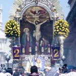 La imagen del Cristo milagroso no nos puede dejar indiferentes