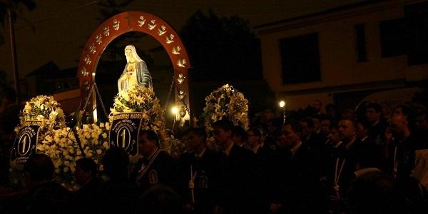 Sodalites en los 25 años de la Hermandad de Nuestra Señora de la Reconciliación