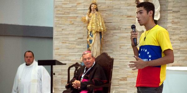 Catequesis y misa, día 24 de Julio