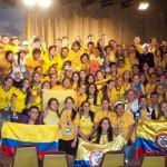 Cantos, bailes y oración en el encuentro del MVC en la JMJ