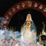 Se inicia el recorrido procesional de Nuestra Señora de la Reconciliación