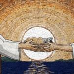 """""""El mosaico simboliza la fe, la humildad y la confianza en Dios"""""""
