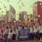 'La Revolución del Verdadero Amor' de LOV recorrió las calles de Lima