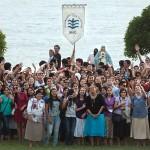 Con un multitudinario rezo del Rosario y una Kermesse concluyó la Semana Emevecista