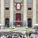 La Familia Sodálite presente en la canonización de los dos Papas santos
