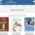 Vida y Espiritualidad publica ahora también en formato Kindle