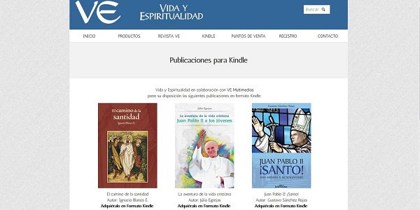 ve multimedios en kindle