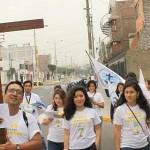 MVC Trujillo realizó XV caminata por el día del Papa