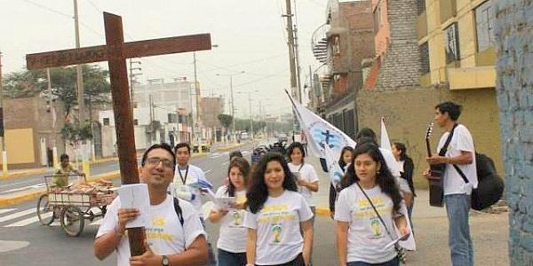 Caminata por el Papa MVC Trujillo