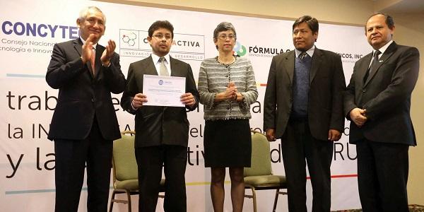 premio Concytec a UCSP