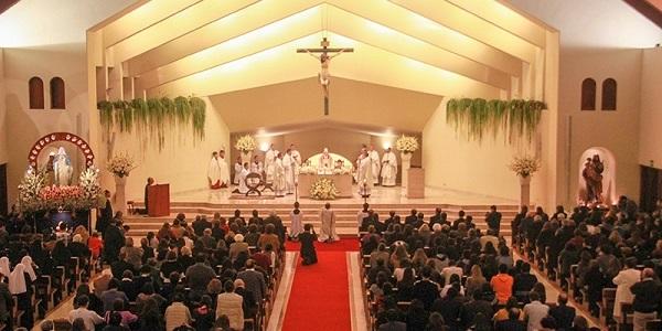 Parroquia Nuestra Señora de la Reconciliación celebra su XXV aniversario junto a su pastor