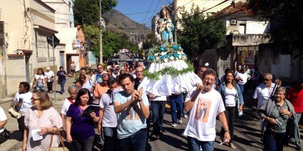 Familia Sodálite en Río celebró la 'Festa da Padroeira'
