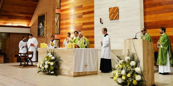 Familia Sodálite en Chile celebra la erección de la Parroquia Madre de los Apóstoles