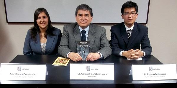 Presentacion libro HP Gustavo Sanchez (P)