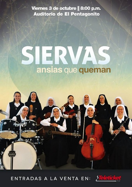 Las Siervas: nhóm nhạc rock'n'roll nữ tu (video)