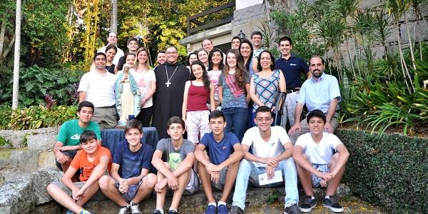 Encuentro MVC Petropolis con obispo (P) NS