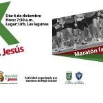 Colegios San Pedro y Villa Cáritas organizan '5k Navidad es Jesús'