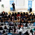 La Opción V recorrió Cajamarca promoviendo el verdadero amor