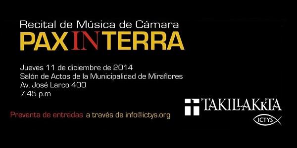 Takillakkta anuncia su nuevo disco: 'Pax in Terra'