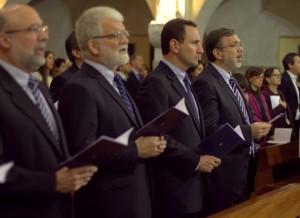 Misa por los 25 años de la Profesion Perpetua de Enrique Elias en el Sodalicio de Vida Cristiana