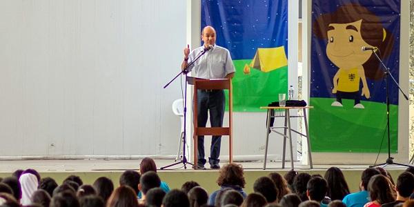 Charla de Javier Rodriguez Canales en el Encuentro de Agrupaciones Marianas del MVC Peru - Noticias del Sodalicio