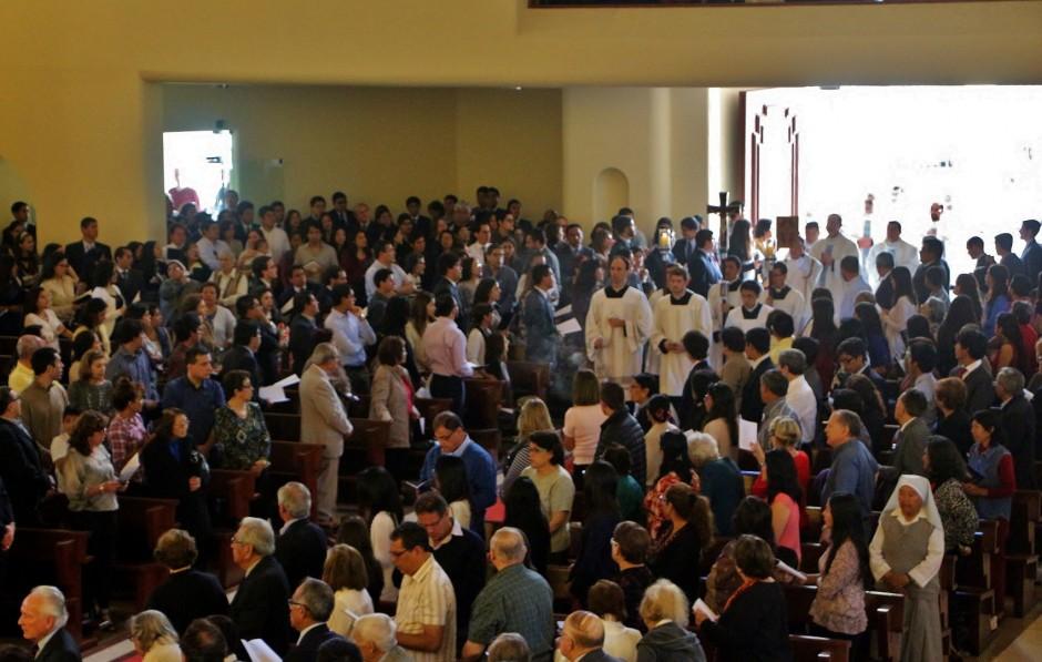XLIV Aniversario del Sodalicio de Vida Cristiana en Lima 2015 (1)