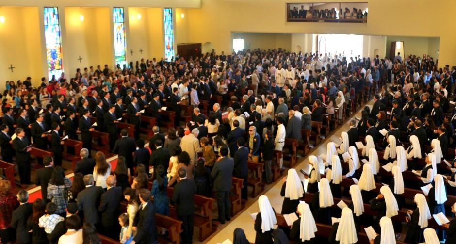 XLIV Aniversario del Sodalicio de Vida Cristiana en Lima 2015 (2)