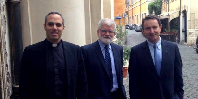 Mensaje de Alessandro Moroni sobre el Sodalicio de Vida Cristiana desde Roma - Noticias del Sodalicio