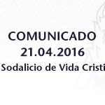 Comunicado – Sobre el R.P. Luis Ferroggiaro