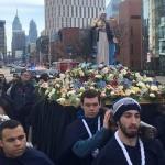Nuestra Señora de la Reconciliación recorrió las calles de Filadelfia