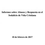 Publicación de Informe Final de Abusos realizado por expertos internacionales