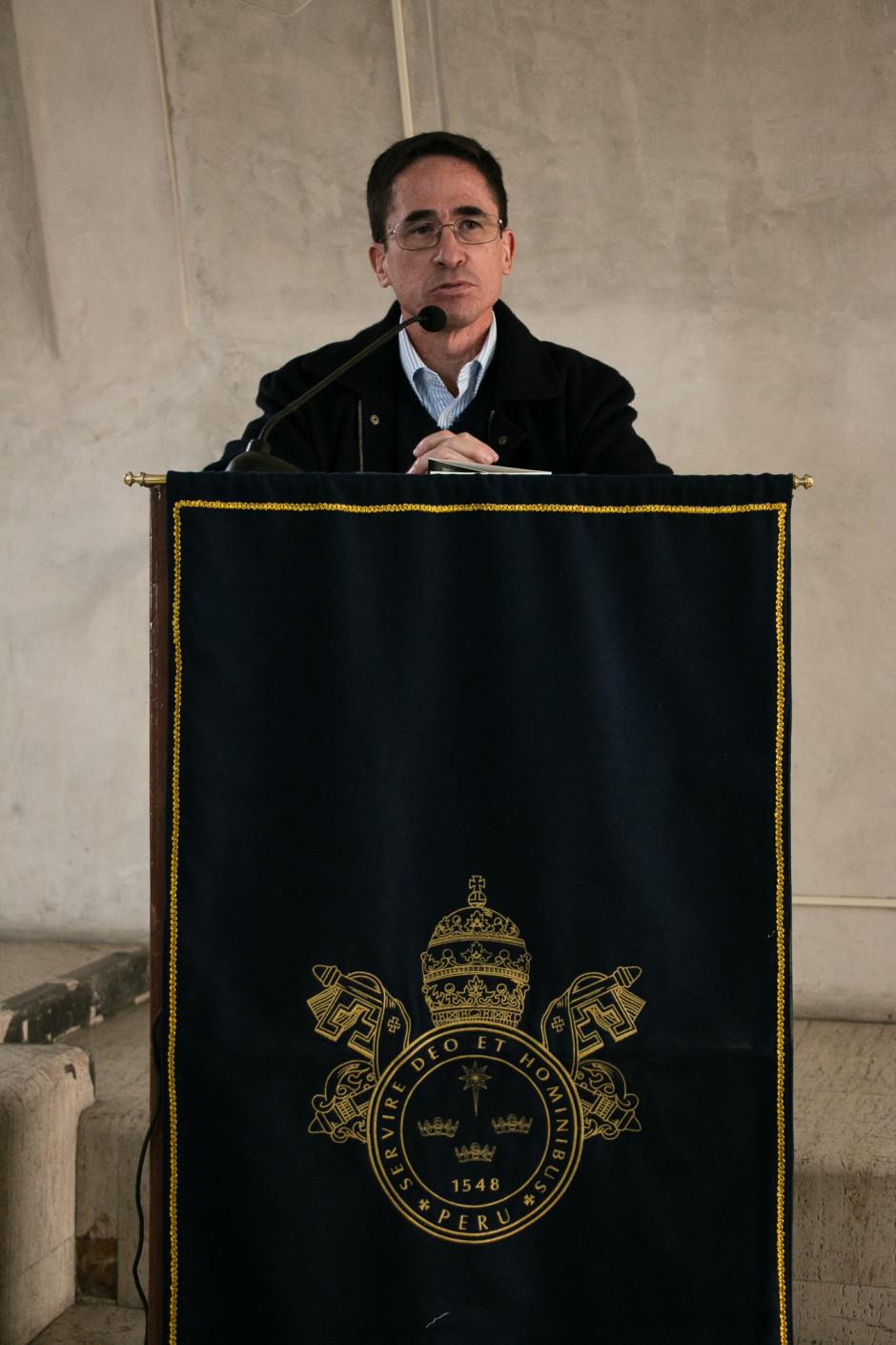 Presentación del libro San Agustín Maestro y Doctor del sodálite Gustavo Sánchez - Noticias Sodálites (1)