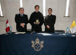 Presentación del libro San Agustín Maestro y Doctor del sodálite Gustavo Sánchez - Noticias Sodálites (10)