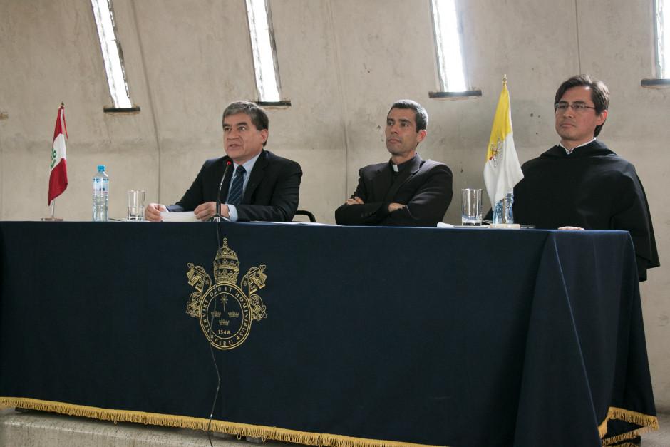 Presentación del libro San Agustín Maestro y Doctor del sodálite Gustavo Sánchez - Noticias Sodálites (4)