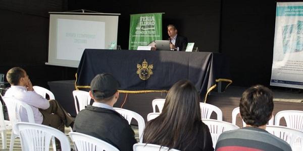 Presentación del libro Deporte y Compromiso Cristiano de Alexandre Borges en la IV Feria del Libro Católico - Noticias Sodálites