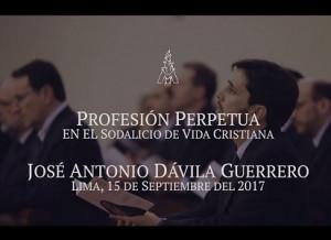 Video - Profesión Perpetua en el Sodalicio de Vida Cristiana de José Antonio Dávila - Noticias Sodálites - copia