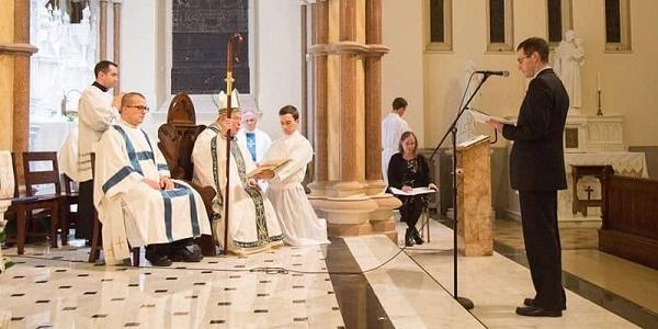 Profesion Perpetua de Patrick Travers y Ordenacion Diaconal de Remigio Morales - Noticias Sodálites (7a)