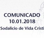 Comunicado sobre nombramiento de Comisario Apostólico para el Sodalicio