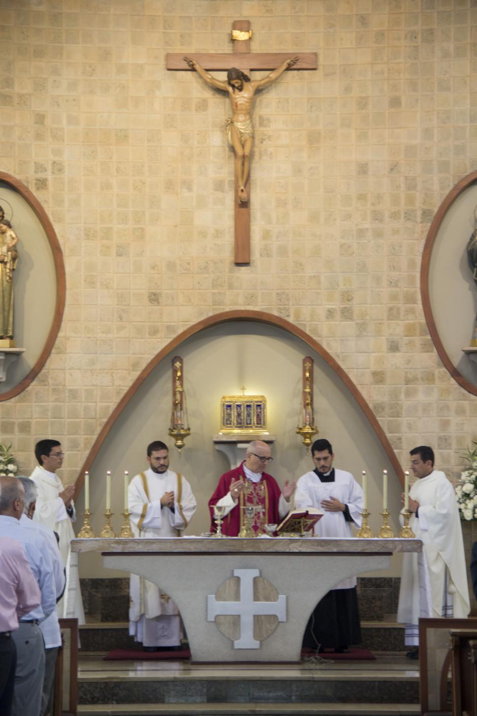 Ordenación Diaconal de Luis Troya en el Sodalicio de Vida Cristiana (28)
