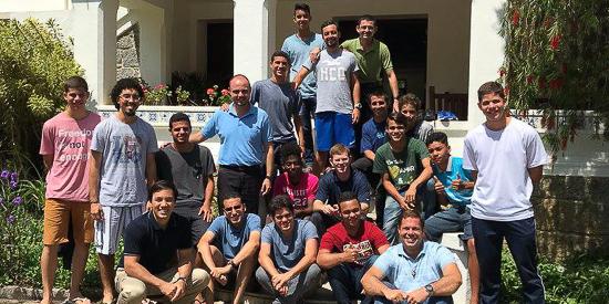 Sodálites en Brasil participaron en retiro sobre la amistad con Jesús - Noticias Sodálites (2)