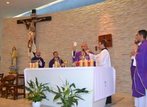 Cardenal Orani Tempesta presidió Misa de Acción de Gracias por los 32 años del Sodalicio en la Parroquia Nossa Senhora da Guia - Noticias Sodálites (10)