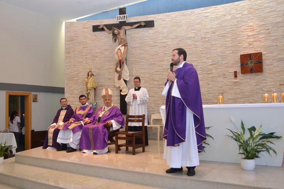 Cardenal Orani Tempesta presidió Misa de Acción de Gracias por los 32 años del Sodalicio en la Parroquia Nossa Senhora da Guia - Noticias Sodálites (3)