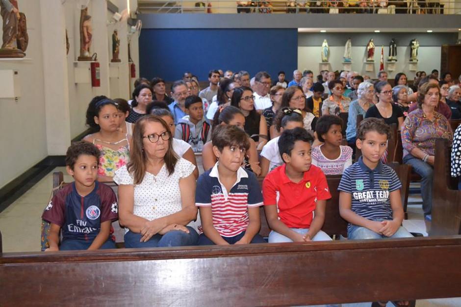 Cardenal Orani Tempesta presidió Misa de Acción de Gracias por los 32 años del Sodalicio en la Parroquia Nossa Senhora da Guia - Noticias Sodálites (8)