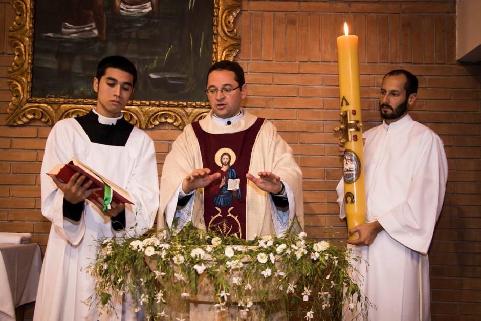 P. Alejandro Gallego en la Parroquia Madre de los Apóstoles - Noticias Sodálites (2)