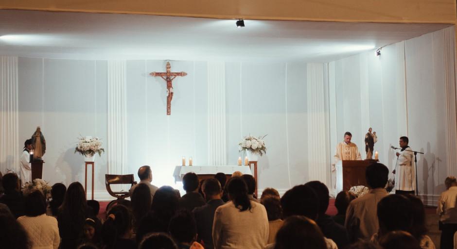 P. Gonzalo Len en el CP Santa María de la Evangelización (Lima) - Noticias Sodálites