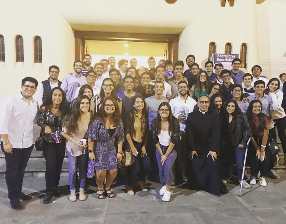 P. Jaime Gómez en la Parroquia Nuestra Señora de la Reconciliación - Noticias Sodálites