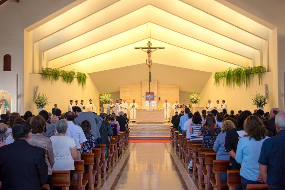 Misa por el XLVII Aniversario del Sodalicio de Vida Cristiana en Lima Perú - Noticias Sodálites (4)