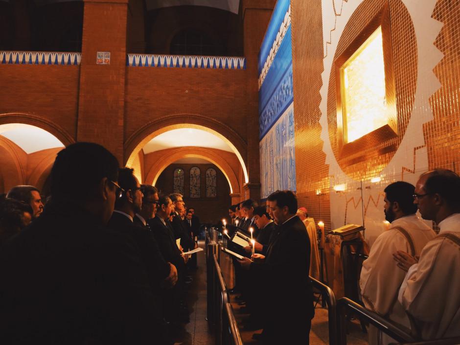 El Consejo Superior haciendo su Juramento de Fidelidad frente a la V Asamblea General