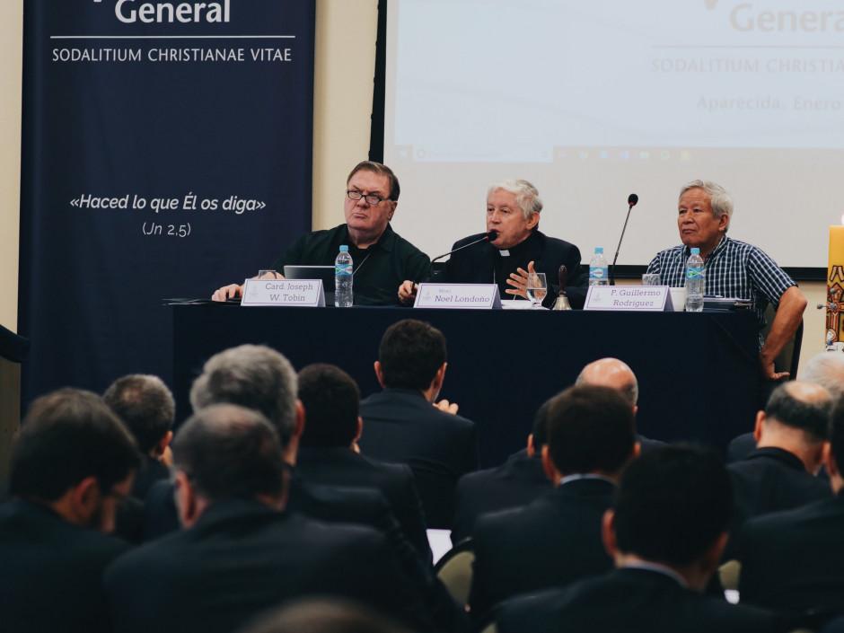 Conferencia inicial de Mons. Noel Londoño, Comisario Apostólico del Sodalicio