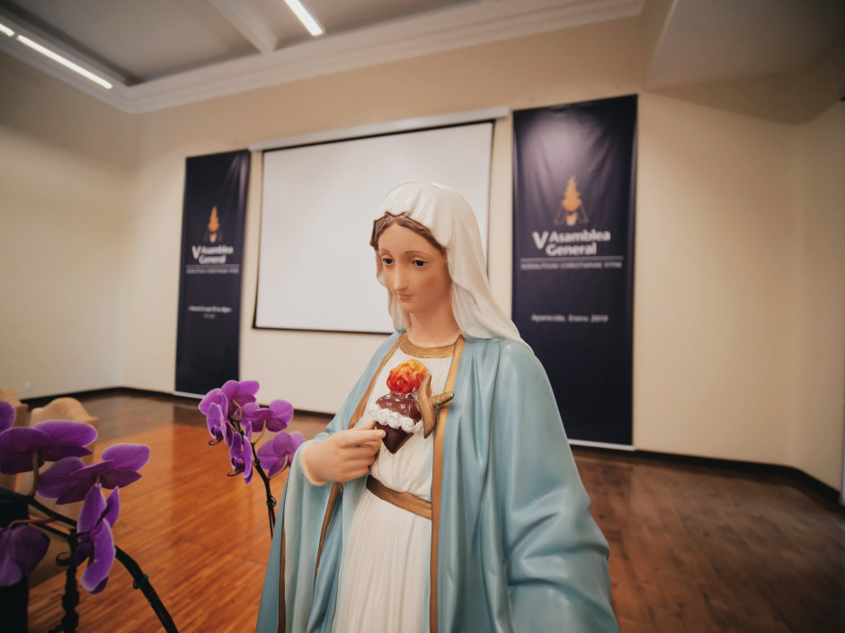 Nuestra Señora de la Reconciliación nos acompaña durante los trabajos de nuestra V Asamblea General
